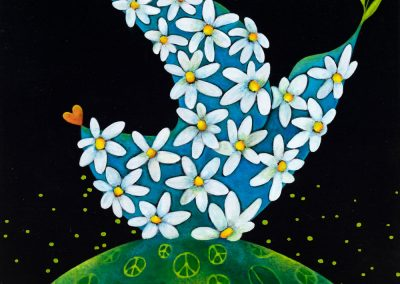 Pollen de paix - 10x10